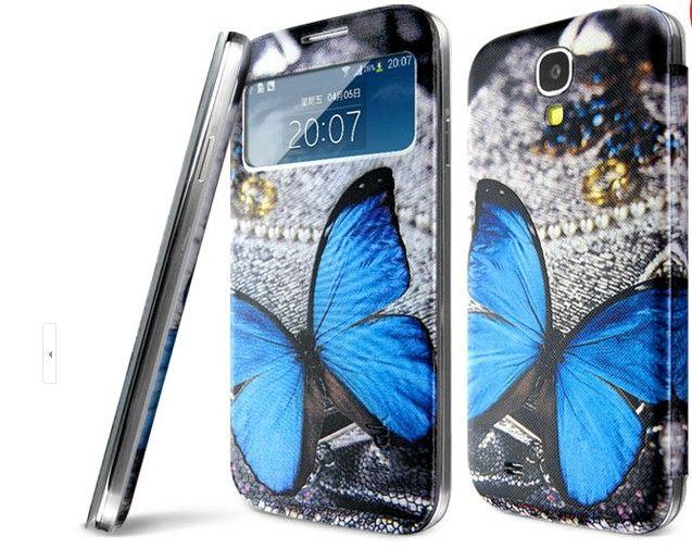 Θήκη Butterfly Preview Window Flip Case OEM (Samsung Galaxy S4 mini) -  myThiki.gr - Θήκες Κινητών-Αξεσουάρ για Smartphones και Tablets - Πεταλούδα 90614b7d43a