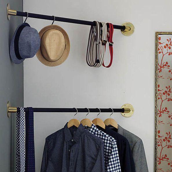 Corner Bar Closets–A Small Space Solution | Einrichtung | Pinterest ...