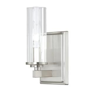 Check out the Capital Lighting 8041BN-150 Emery 1 Light Wall Sconce in Brushed Nickel
