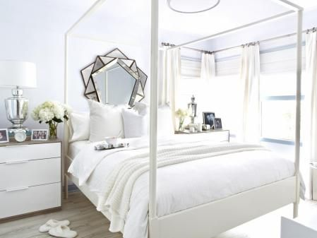 All white rooms bring simplicity to an otherwise crazy life  Photo via HGTV. All white rooms bring simplicity to an otherwise crazy life  Photo