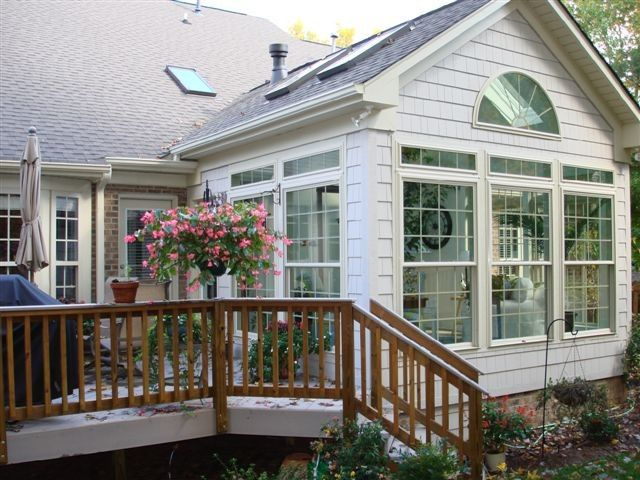 Screened Porch To A Sunroom
