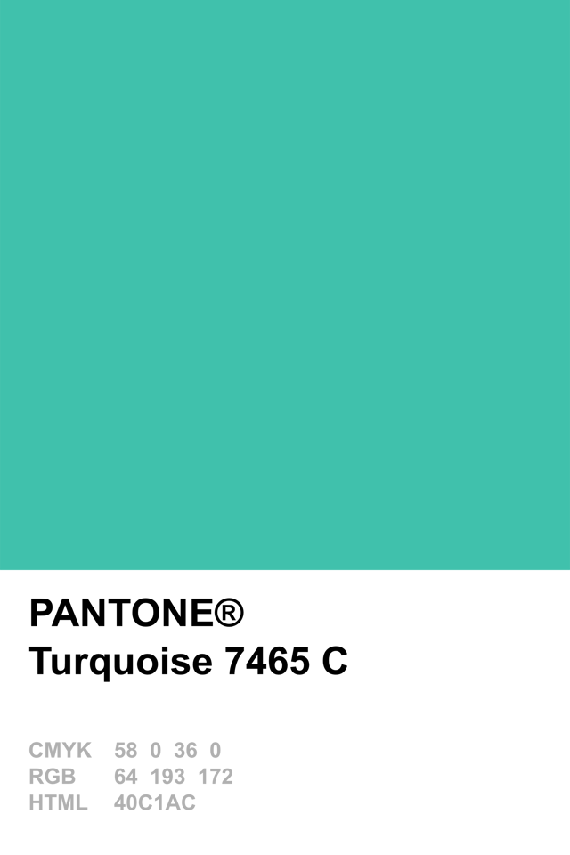 Pantone Colour Of The Year 2010 Turquoise Pantone