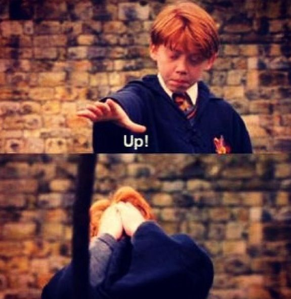 One of my favorite scene! Harry Potter and the Philosopher's stone is my favorite HP movie!