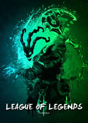 LOL Thresh | Displate thumbnail