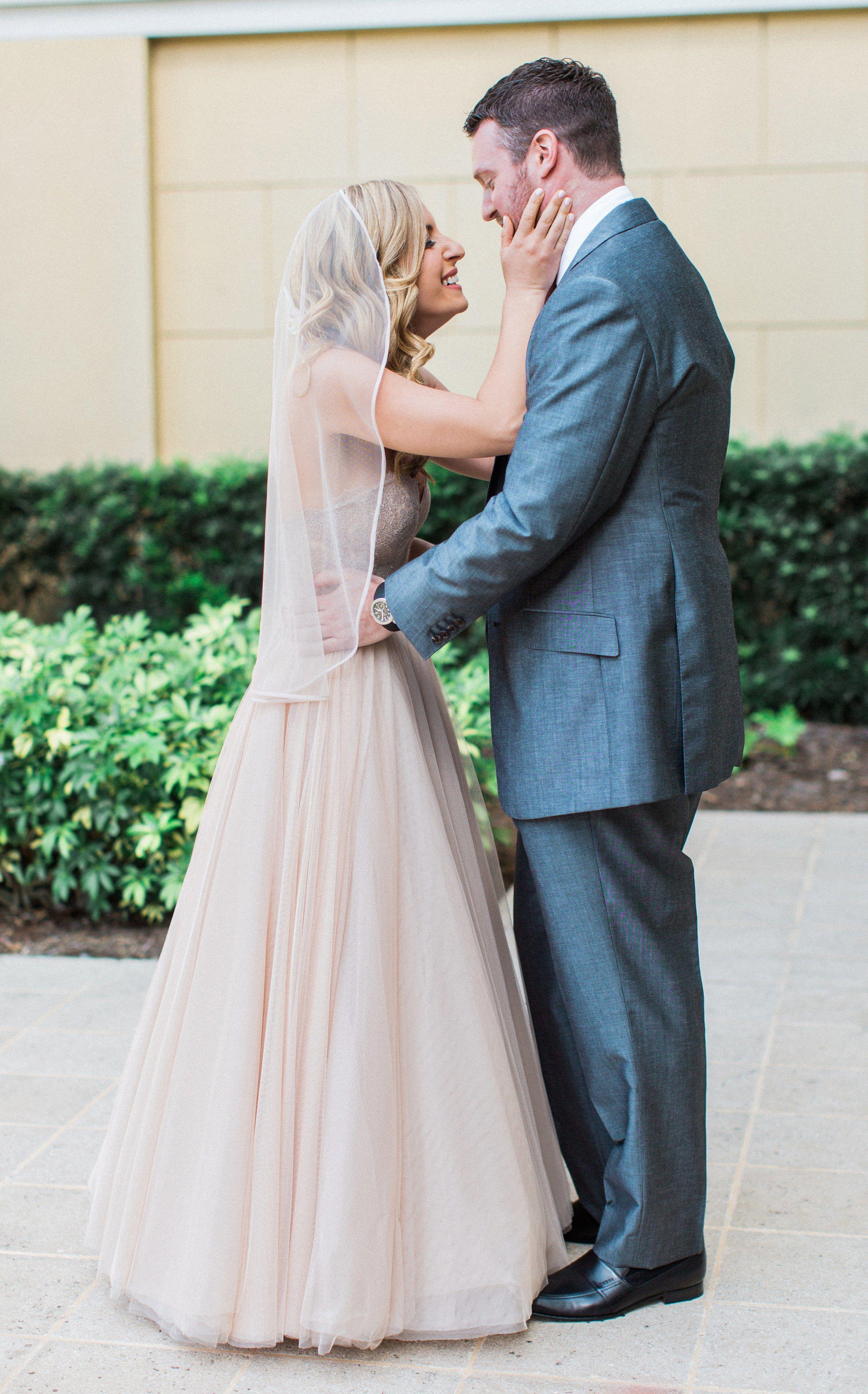 Colored wedding dresses that still look bridal af brides wed