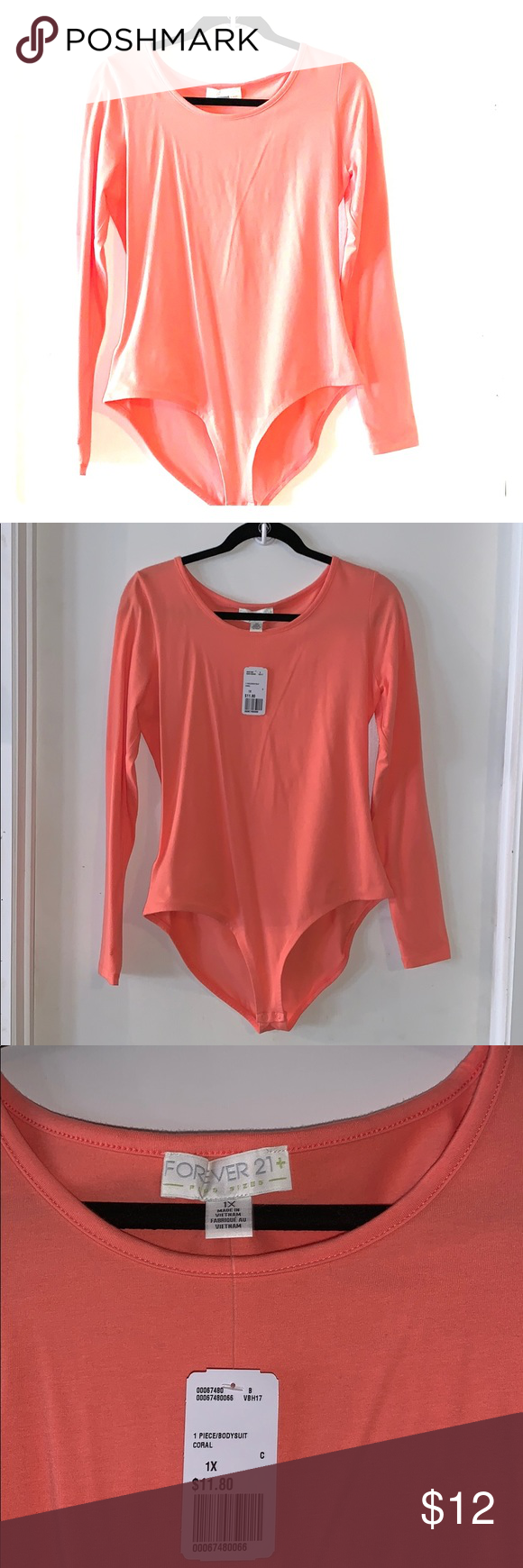 Forever 21 plus size bodysuit 1x This body suit is a size ...