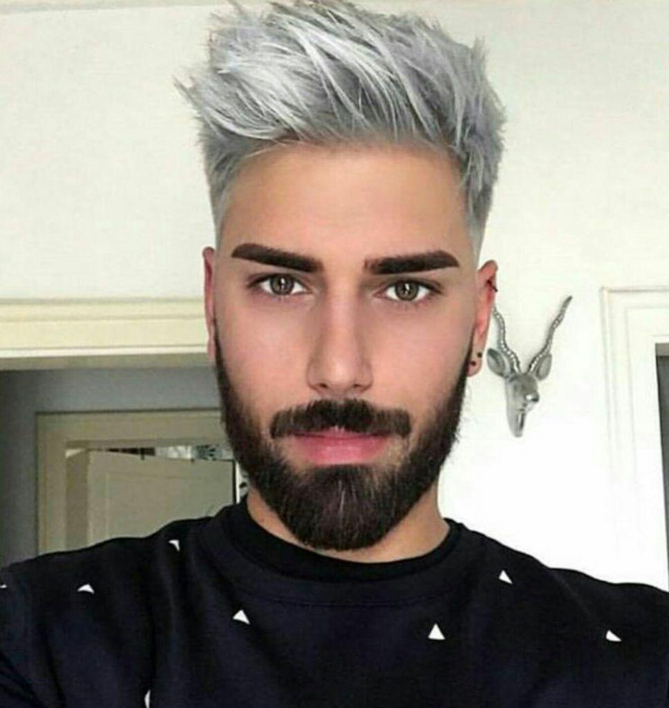 Peinados de colores para hombres