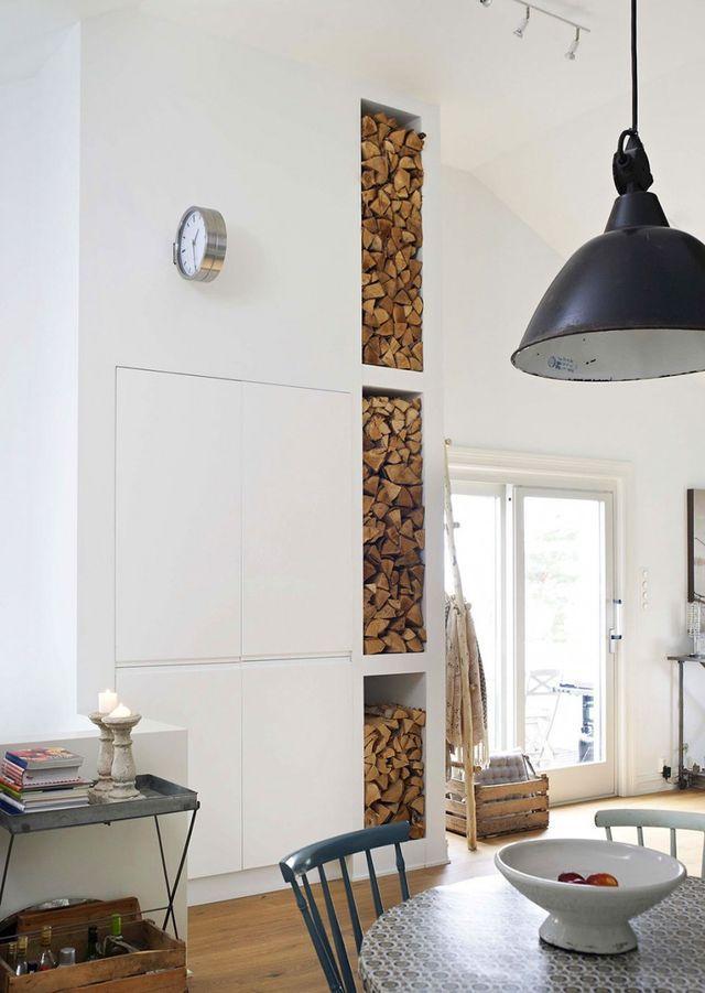 Een mix van brocante, industriële en vintage elementen zorgt voor een romantische look (via Bloglovin.com )