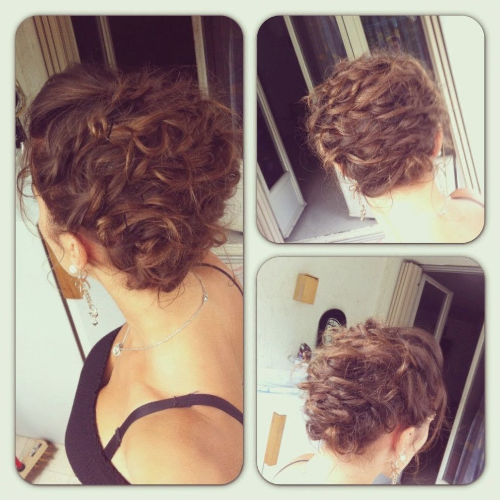 Coiffure Mariage Boucle Et Tresse Hair Styles Girl Hairstyles Hair