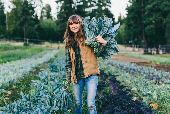 One of our favorite farmers (and blogger partners!)—Andrea Bemis of Dishing Up the Dirt and Tumbleweed Farm