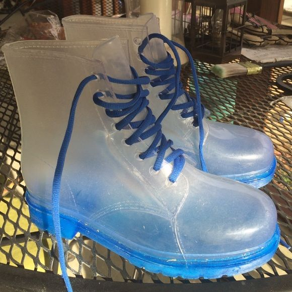 Clear Doc Martens | Boots, Doc martens