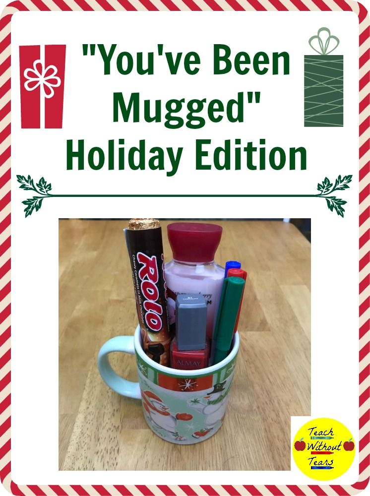 """You've Been Mugged"" Holiday Edition Holiday activities"
