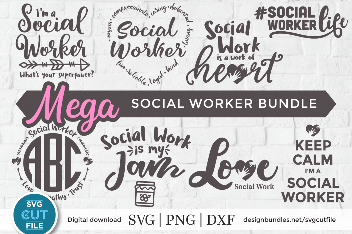 Download Free Svg Cut Files Social Worker Svg