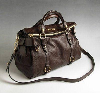 Mui Bow Bag In Chestnut
