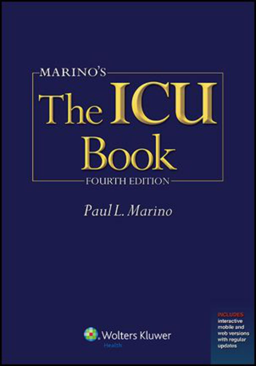Marino's The ICU Book (eBook Rental) (With images
