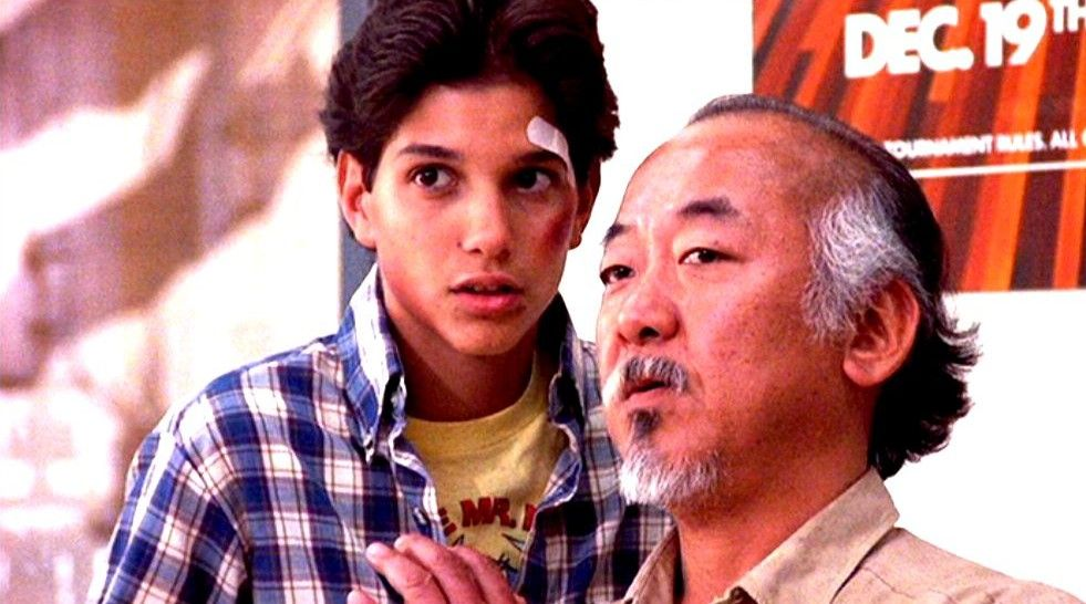 Image result for daniel and mr miyagi