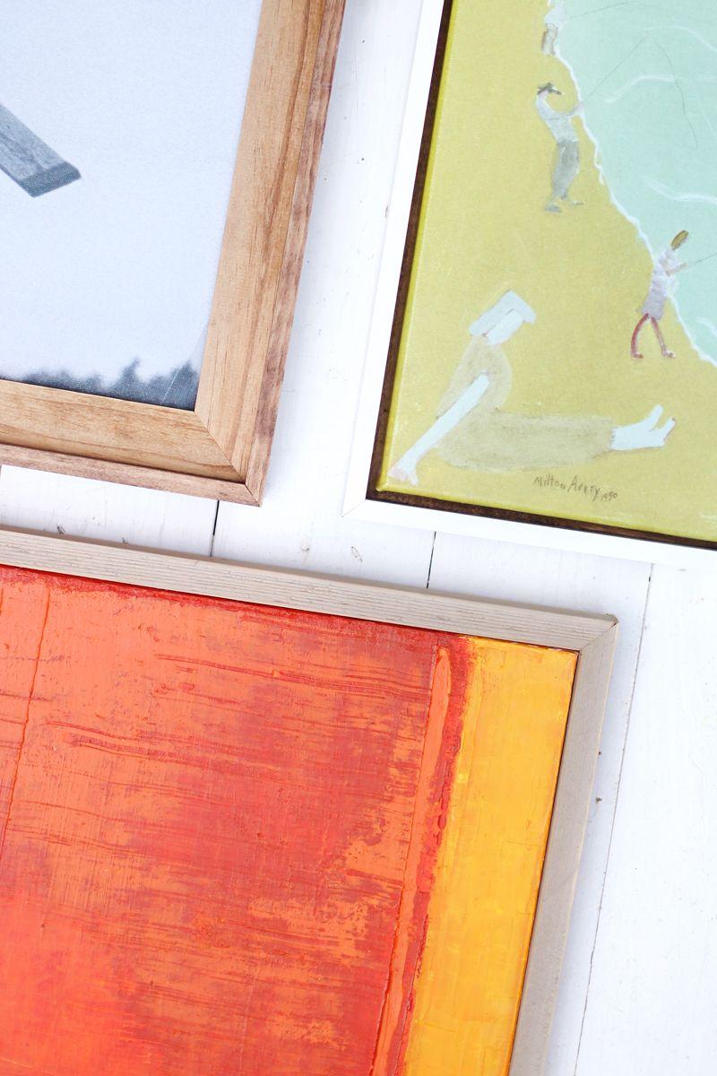 DIY Custom Framing—No Power Tools Required | Pinterest ...
