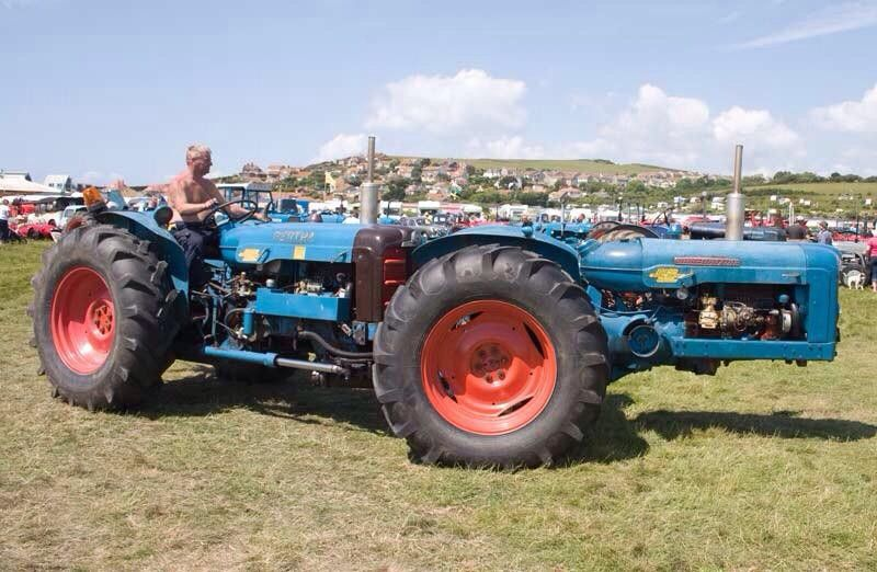 1950s Double Engined Fordson Tractor Videos Patent And Photo