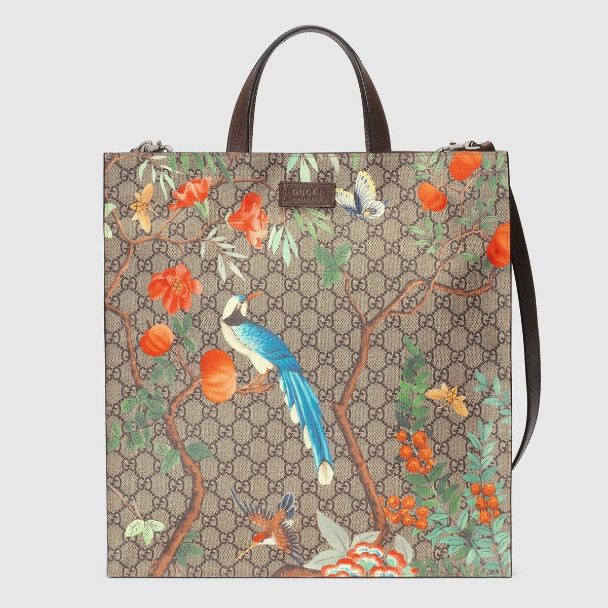 9252c3f0f GUCCI Gucci Tian Soft Gg Supreme Tote - Gucci Tian Print. #gucci #bags  #canvas #tote #lining #shoulder bags #suede #hand bags #