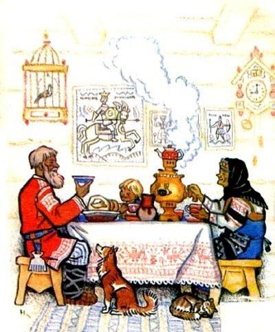 Masha I Medved 2 Russkaya Skazka Fairytale Illustration Fairy Tail Art Russian Cartoons