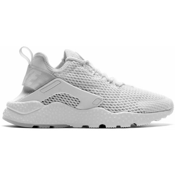 free shipping 25d0d bbb66 Nike WMNS Air Huarache Run Ultra Breathe ( 120) ❤ liked on Polyvore  featuring shoes, athletic shoes, shoe club, women, nike athletic shoes,  platinum shoes, ...