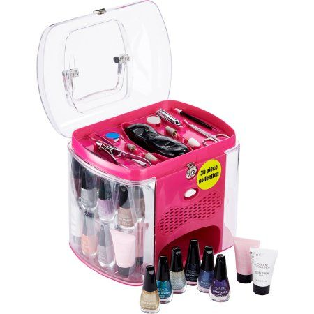 The Color Workshop Incredible Nails Pink Nail Salon Collection Variety Pack, 30 pc