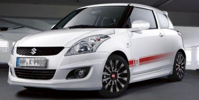 Suzuki Swift X-ITE: german special edition! | Swift(ing) | Maruti