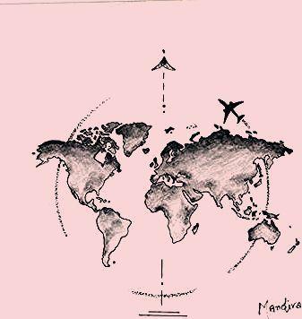 Photo of Travel Tattoo Inspiration Maps 43+ Super Ideas