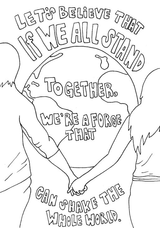lyrics coloring pages - photo#11