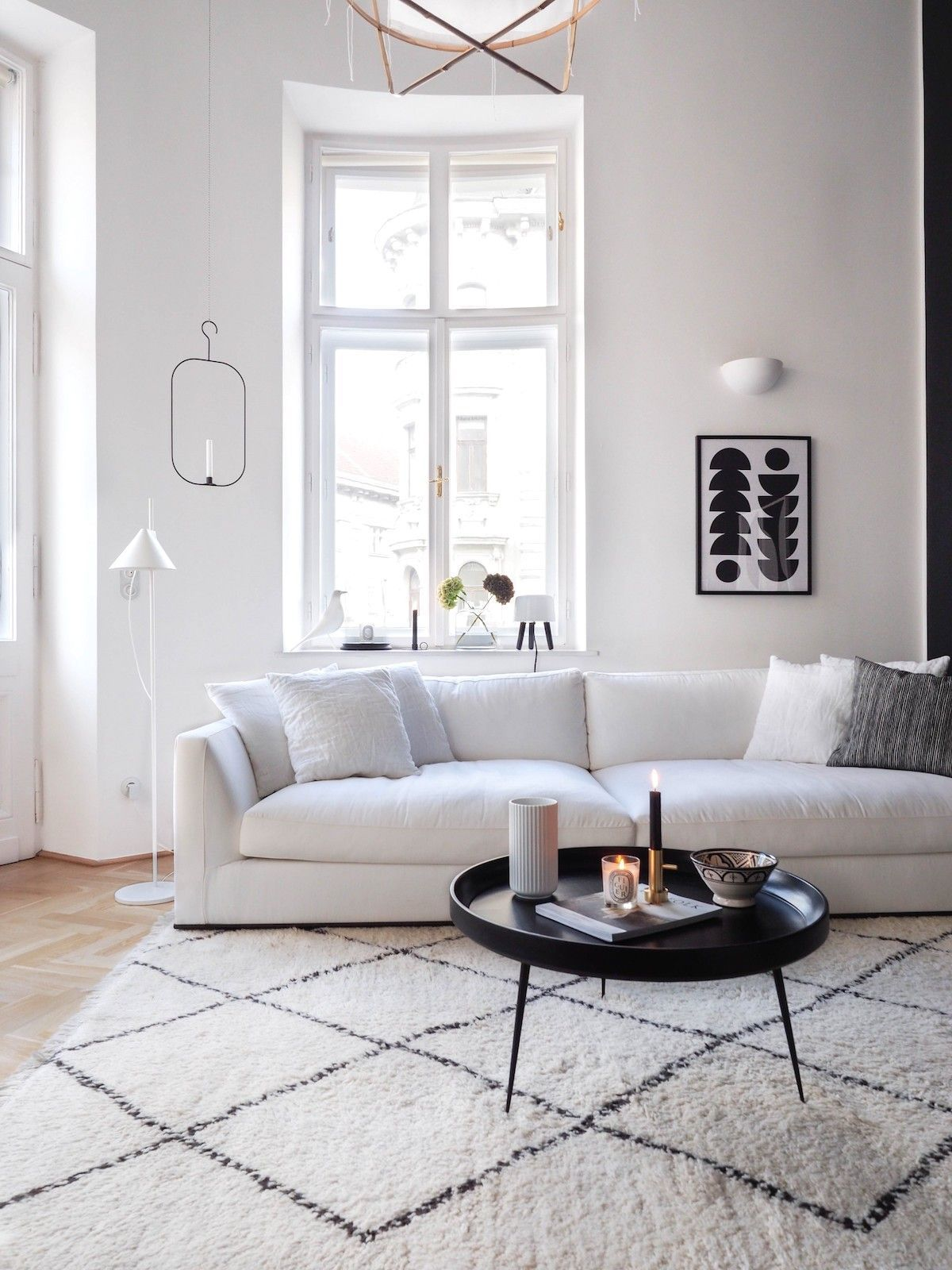 12 Scandinavian Rugs For The Perfect Nordic Look Minimalist Living Room Living Room Scandinavian Minimalist Living Room Decor