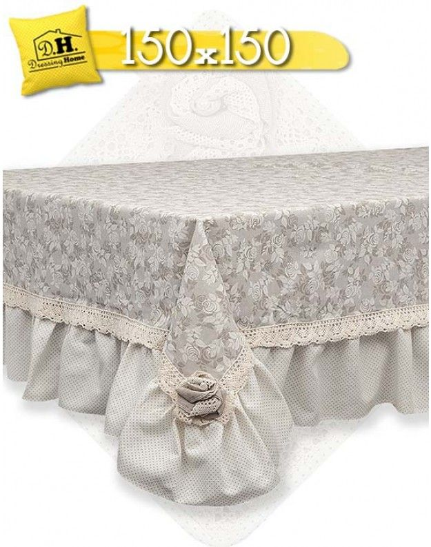 Tovaglia angelica home country collezione lady rose 150x for Angelica home e country tende