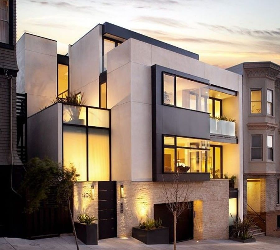 Modern Home Exterior Design Ideas 2017: Pin By Civil Engineering Discoveries On Modern House