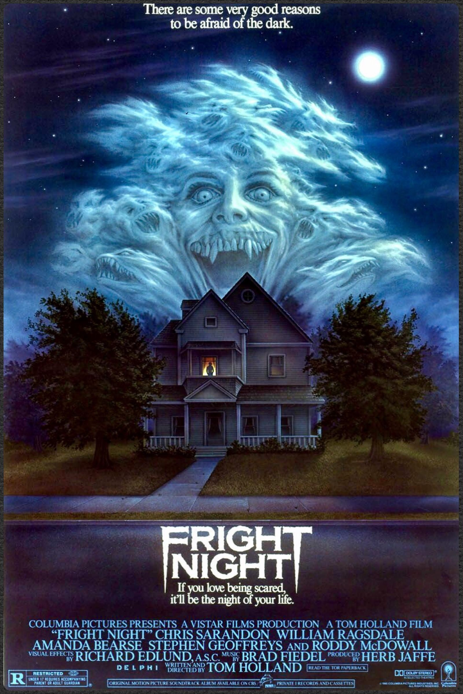 Fright Night Fright Night Scary Movies Horror Films
