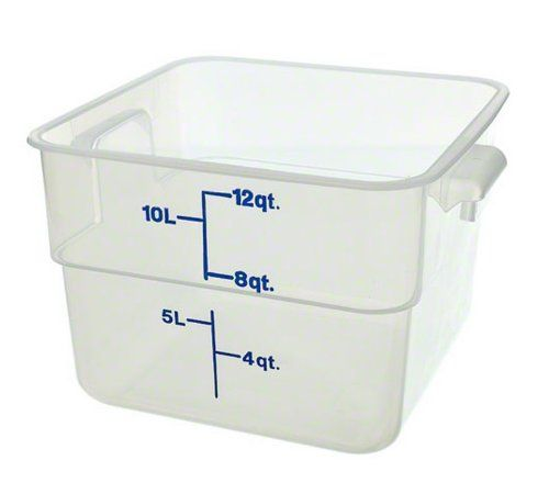 Cambro 12sfspp190 12 Qt Polypropylene Food Storage Container Camsquare Check Out This Great Pr Cambro Food Storage Containers Kitchen Storage Organization