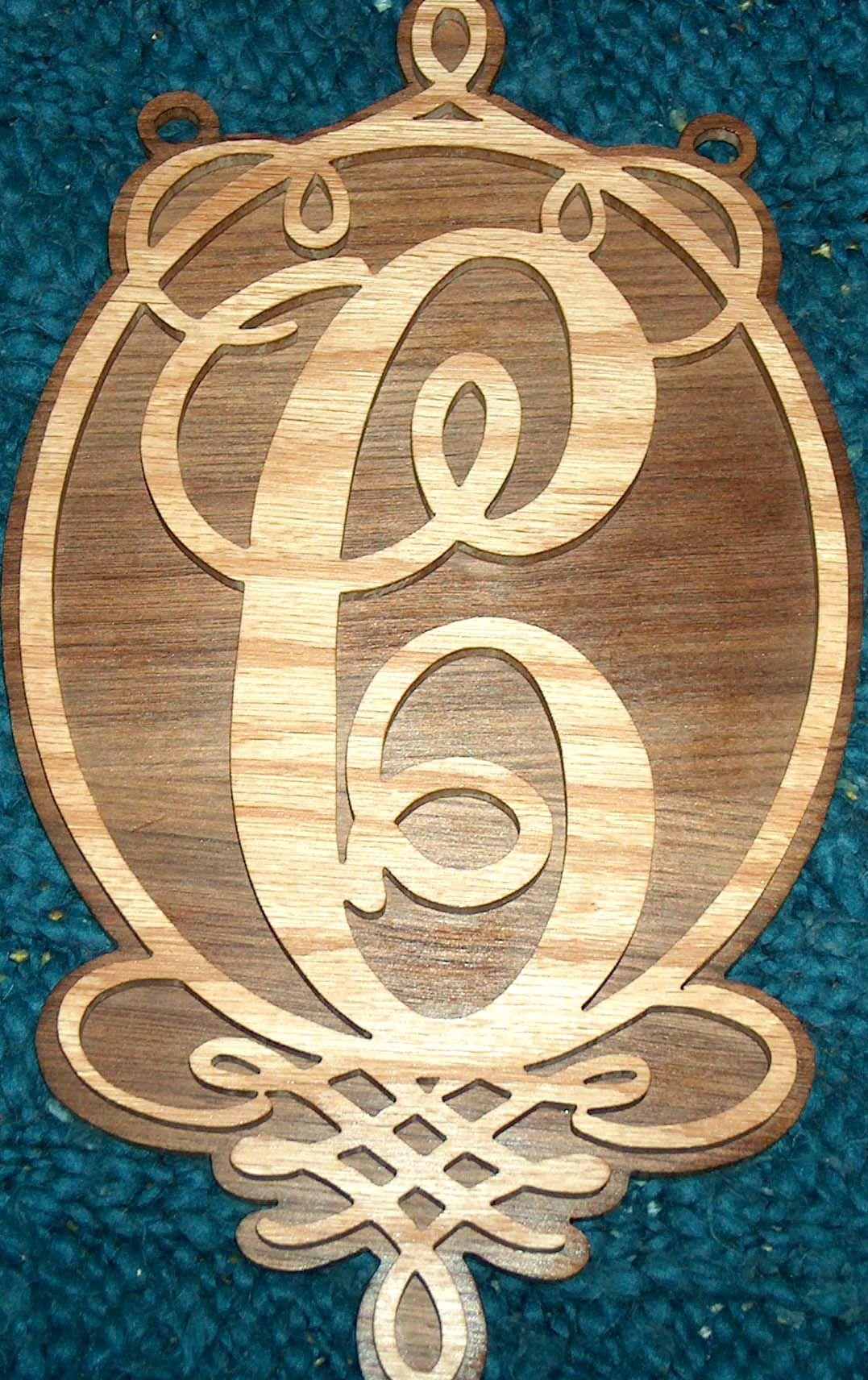 Wooden Monogram Wall Hanging, Door Hanger, House Warming Gift ...