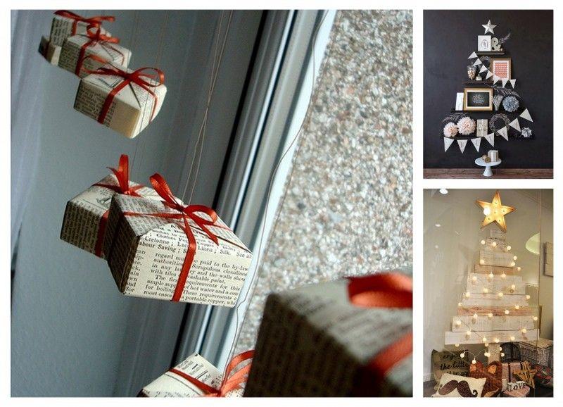Escaparates de navidad proyectos que intentar - Como decorar una vitrina ...
