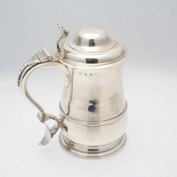 Antique Silver Tankard   Weldons of Dublin www.weldons.ie