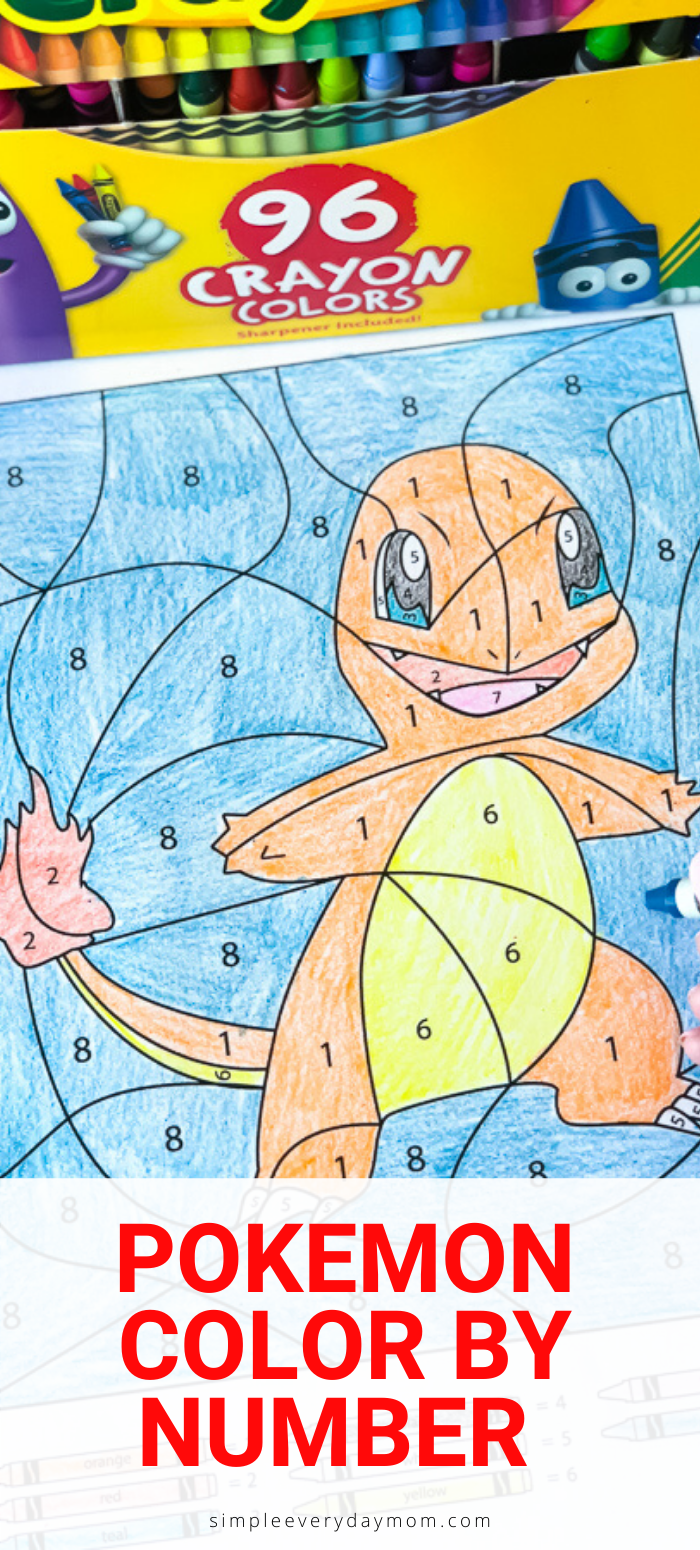 3 Free Pokemon Color By Number Printable Worksheets Preschool Worksheets Free Printables Color Activities Hidden Pictures Printables [ 1550 x 700 Pixel ]