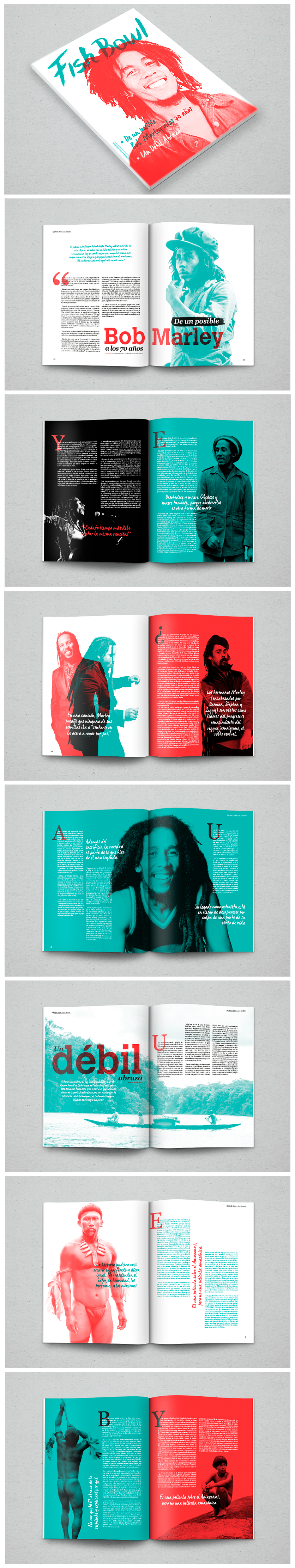Revista Fish Bowl, es un proyecto académico creado para el taller de Diseño Editorial por Juan Manuel Zúñiga.