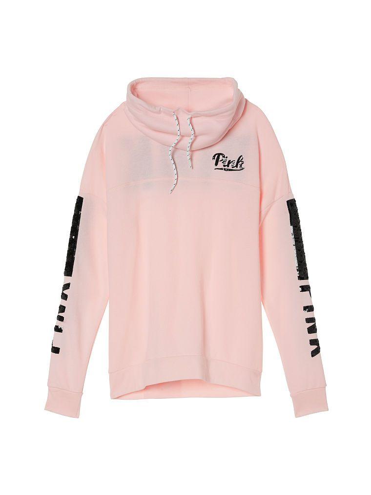 a50985595b409 Cowl Pullover - PINK - Victoria's Secret   Fun   Pink sweater ...