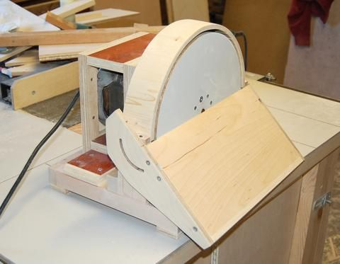 John heisz 39 s homemade disk sander my wishlist for 10 sanding disc for table saw