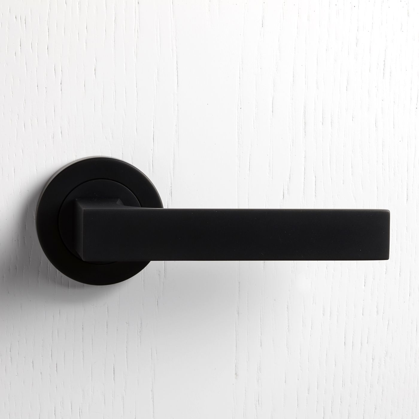 Merveilleux Matt Black Door Handle More