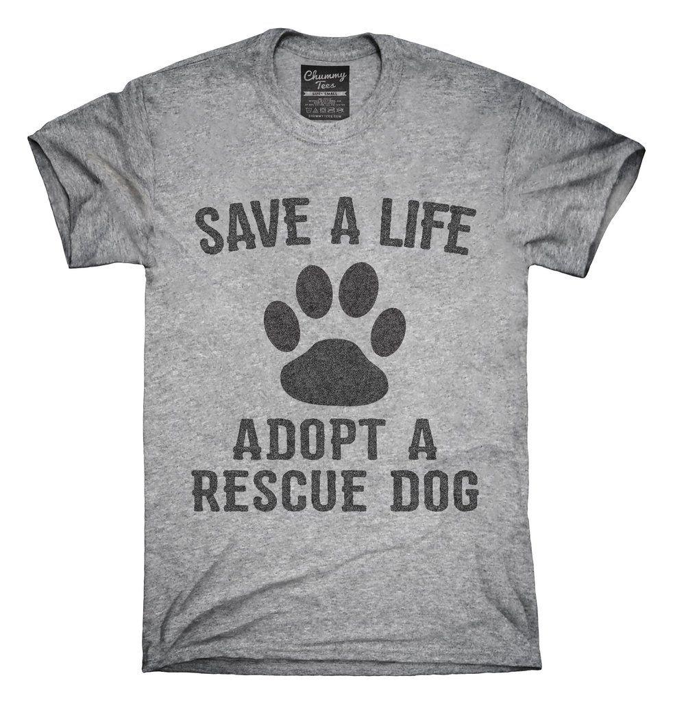 Adopt A Rescue Dog T Shirt Hoo Tank Top