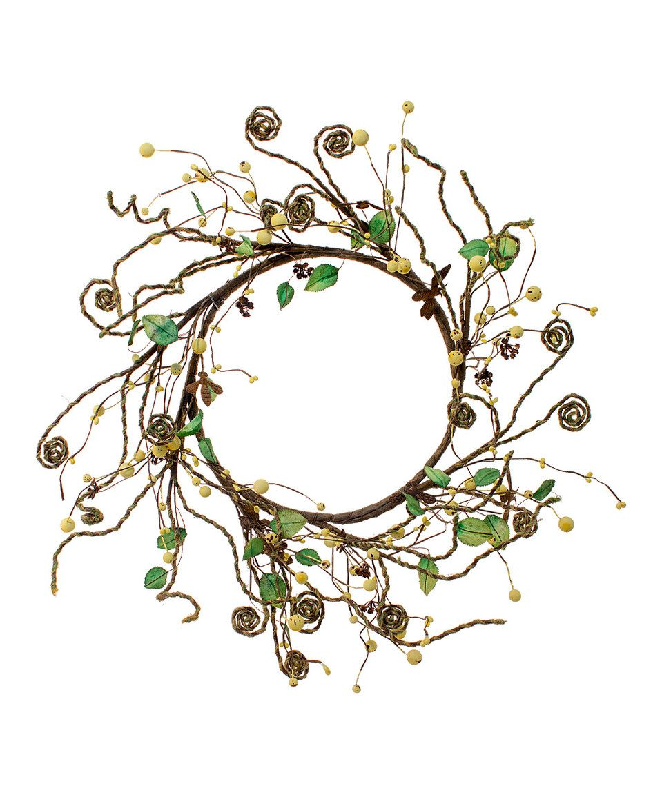Look what I found on #zulily! Whimsical Bee Wreath by WT Collection #zulilyfinds