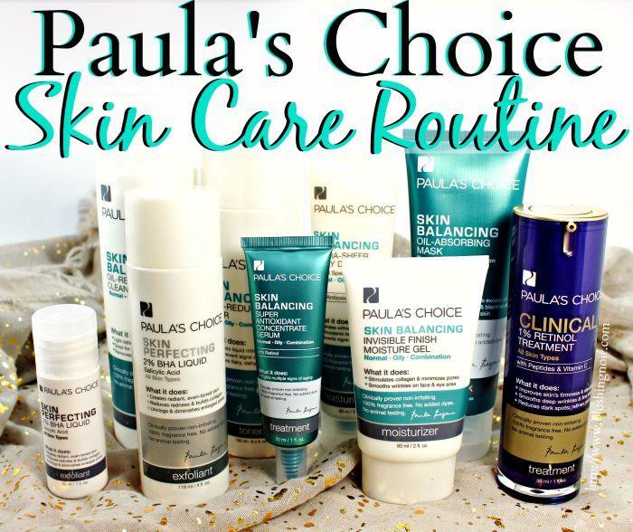 Paula S Choice Skin Balancing Advanced Kit Review Skin Care Inexpensive Skin Care Skin Balancing