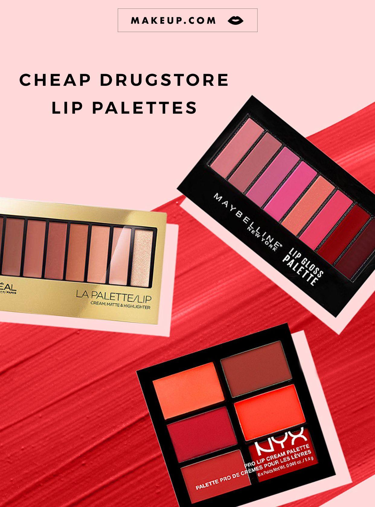 Cheap Drugstore Lip Palettes Lip palette, Lipstick