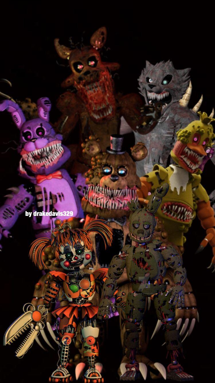 Fnaf The Twisted Ones By Drakedavis329 With Images Fnaf