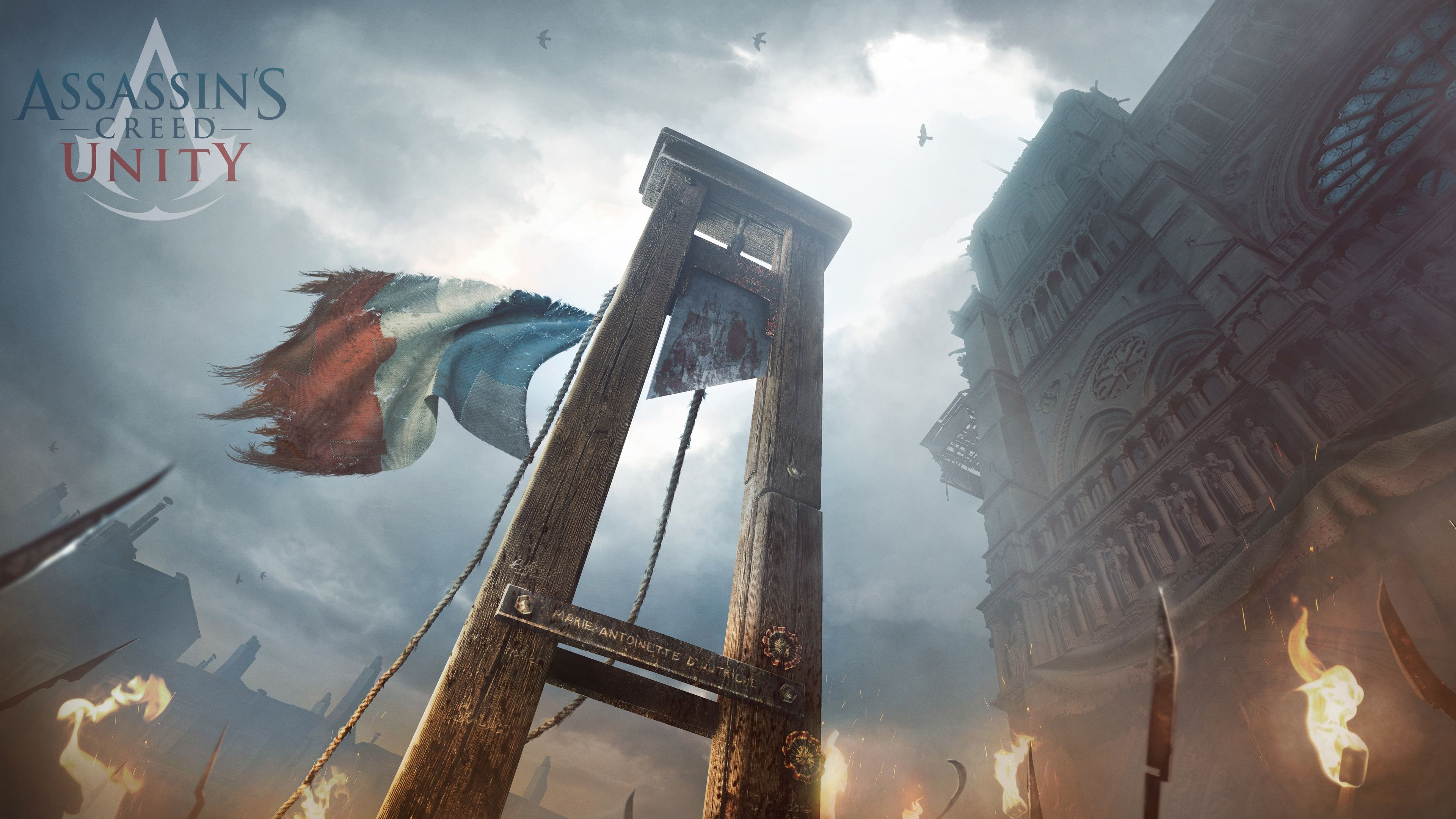 Assassin S Creed Unity Fonds D Ecran Arrieres Plan 3840x2160 Id 548671 Assassins Creed Unity Assassins Creed Assassin S Creed