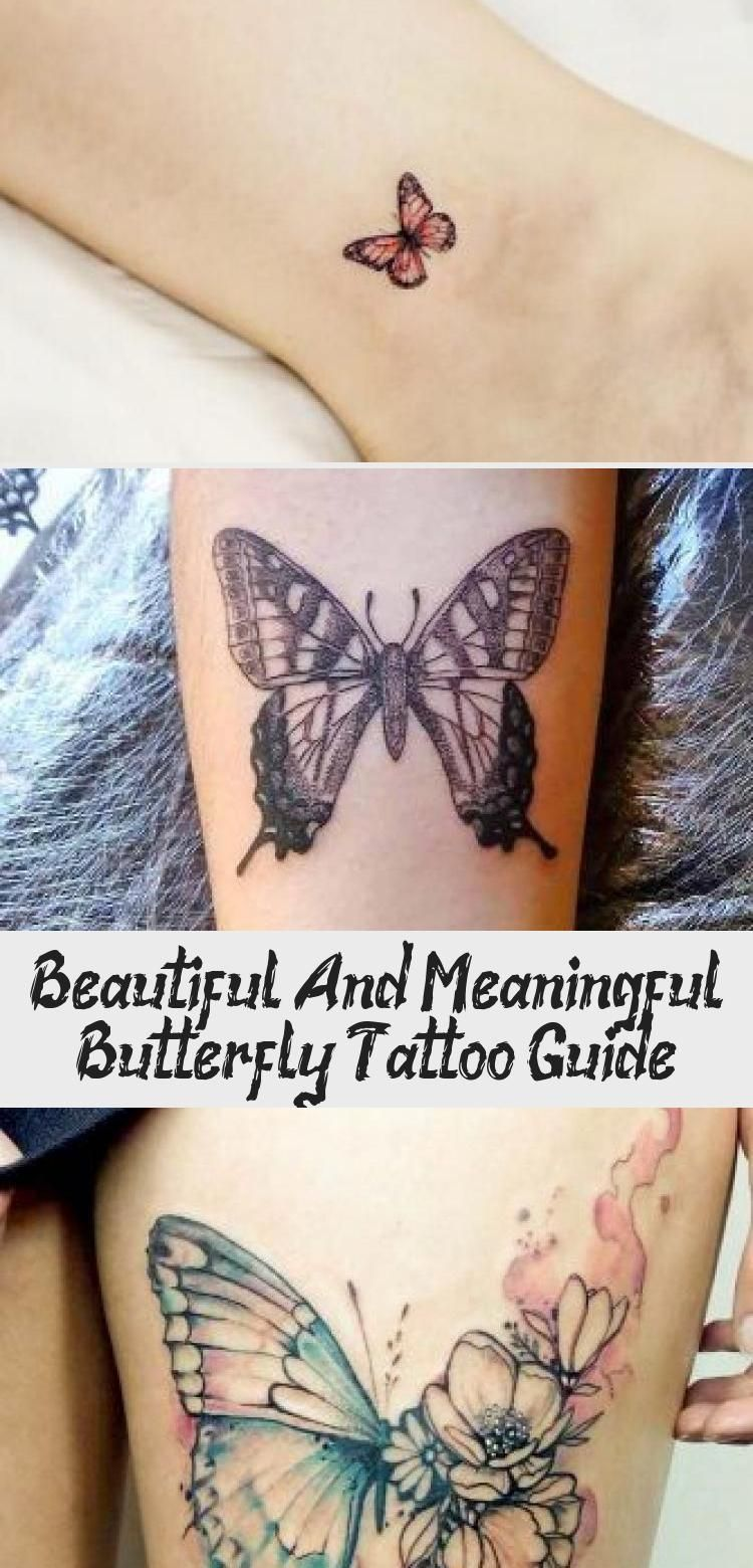 Beautiful And Meaningful Butterfly Tattoo Guide - Tattoo Arts