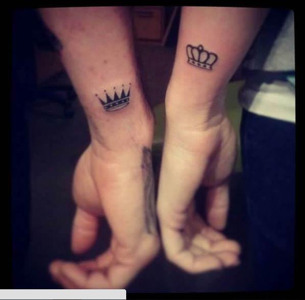 Couple Tattoo Beauty Pinterest Tatouage Tatouage Couple And